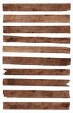 Gammal wood planka Arkivbild