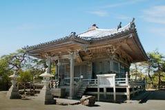 Gammal wood relikskrin i Matsushima, Japan Arkivbilder