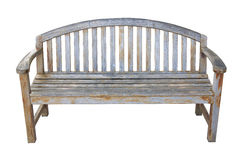 Gammal wood stol Arkivbilder