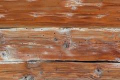Gammal wood textur, bruna träbräden Arkivbilder