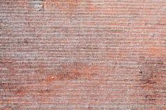 Gammal wood textur med spår av slitning Arkivfoto
