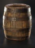 Gammal wood trumma Royaltyfri Foto