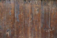 Gammal Wood vägg Arkivfoto