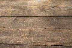Gammal wood yttersida för naturlig modell Texturerad bakgrund för produkt- och matsammansättning med utrymme för text Royaltyfri Bild