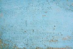 Gammal woodan vägg, sjaskig målarfärg som bakgrund Arkivbild