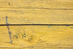 Gammal woodan vägg, sjaskig målarfärg som bakgrund Royaltyfri Fotografi