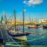 Gammal yacht Arkivfoto