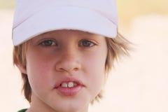 6 gammala år för pojke Royaltyfria Foton
