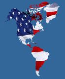 Gammala Amerika Arkivbild