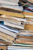 Gammala böcker Arkivfoto