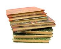Gammala böcker för bok Arkivfoto