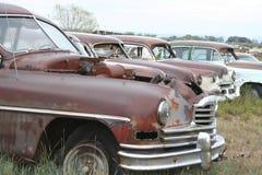 gammala bilar Royaltyfri Fotografi