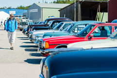 gammala bilar Fotografering för Bildbyråer
