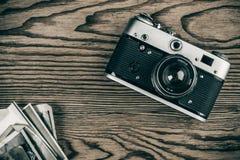 gammala bilder för kamera Arkivbilder