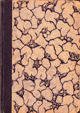 gammala binding böcker Arkivfoto