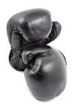 gammala boxninghandskar Royaltyfri Bild
