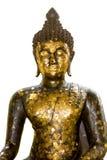 gammala buddha Royaltyfri Fotografi
