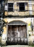 gammala byggnader Royaltyfria Foton