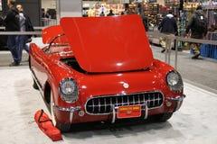 gammala Chevrolet Corvette Fotografering för Bildbyråer