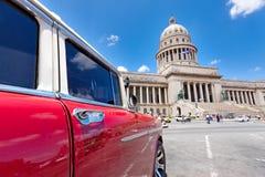 Gammala Chevrolet i Havana Arkivbild