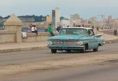 Gammala Chevrolet i Havana Arkivbilder