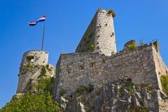 gammala croatia fortklis Arkivbild