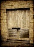 gammala dörrar Fotografering för Bildbyråer