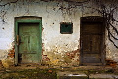 gammala dörrar Royaltyfri Foto