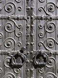 gammala dörrar Arkivbild