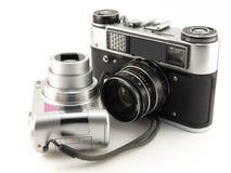 gammala digitala filmer för kamera Arkivfoton