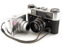 gammala digitala filmer för kamera Arkivfoto