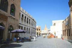 Gammala Doha, Qatar royaltyfria foton