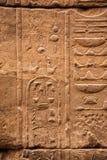 gammala egypt hieroglyphs Arkivbilder