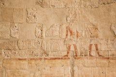 gammala egypt hieroglyphs Fotografering för Bildbyråer
