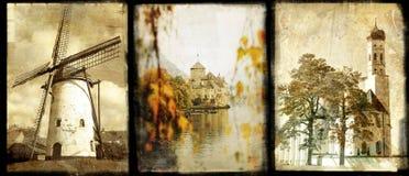 gammala Europa arkivfoto