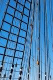 gammala för marin- mast för hempstege piratkopierar nautiska skytteln för shipen för reprephavet uppför trappan Royaltyfria Foton