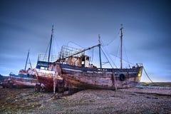 gammala fartyg Royaltyfri Fotografi