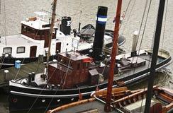 Gammala fartyg Arkivbilder