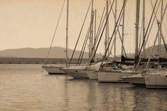 gammala fartyg Royaltyfri Foto