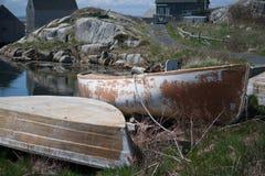 gammala fartyg Royaltyfria Bilder