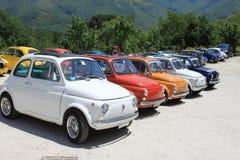Gammala Fiat 500 Royaltyfri Bild