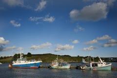 Gammala fiskebåtar. Royaltyfria Foton