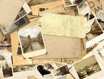 gammala foto för bakgrundsgrunge Arkivfoto