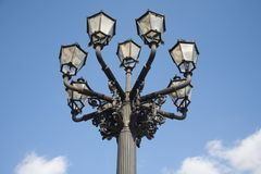 gammala gator för lampa Royaltyfri Bild