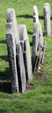 gammala gravestones royaltyfri bild