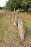 gammala gravestones arkivbilder