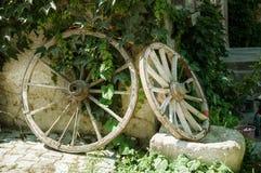 gammala gummihjul Royaltyfria Bilder