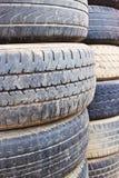 Gammala gummihjulräkningar Fotografering för Bildbyråer