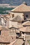 Gammala hus av Cuenca Royaltyfri Fotografi