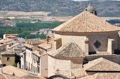 Gammala hus av Cuenca Royaltyfri Foto